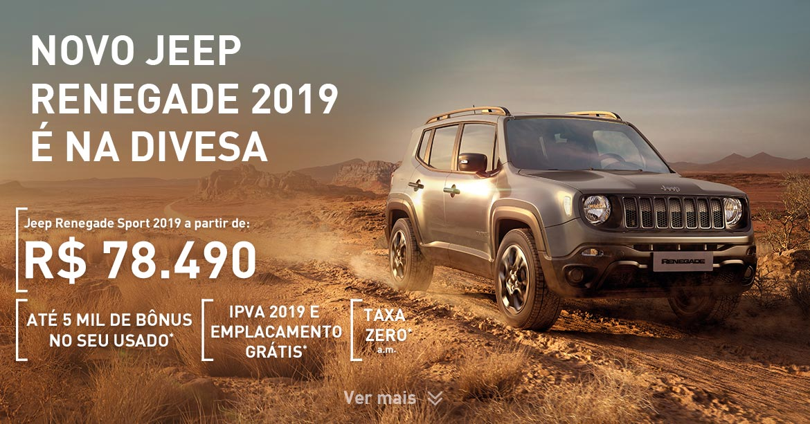 Jeep Renegade Jan 2019